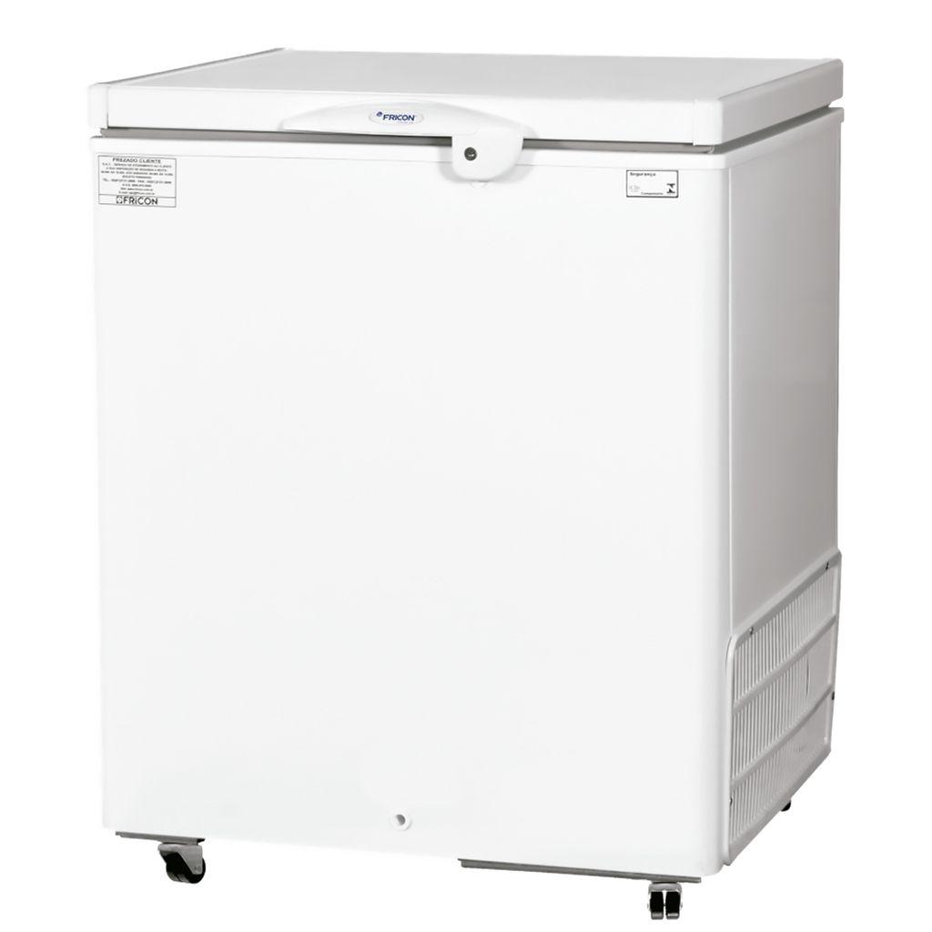 Freezer Conservador Horizontal Fricon 1 Porta 216L Branco HCED 216 C - 127v