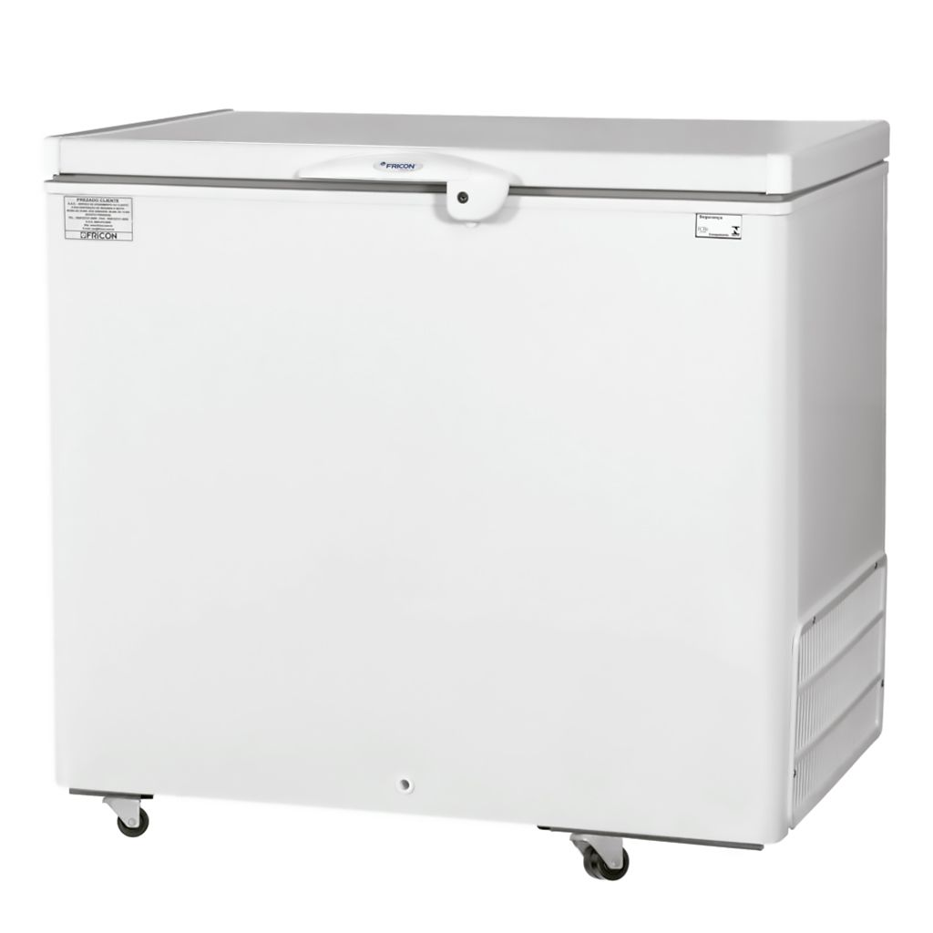 Freezer Conservador Horizontal Fricon 1 Porta 311L Branco HCED 311 C - 127v