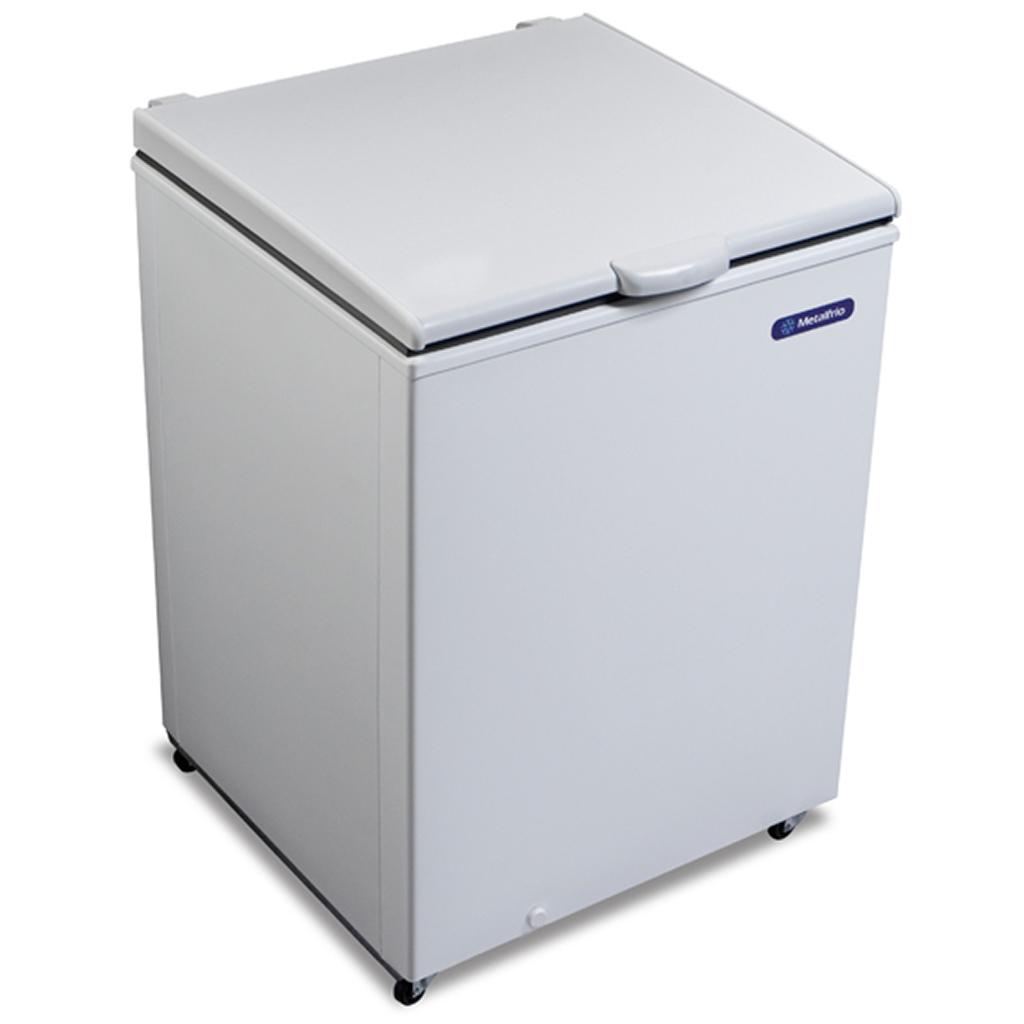 Freezer Horizontal Metalfrio 1 Porta 166L Branco DA170 - 127v