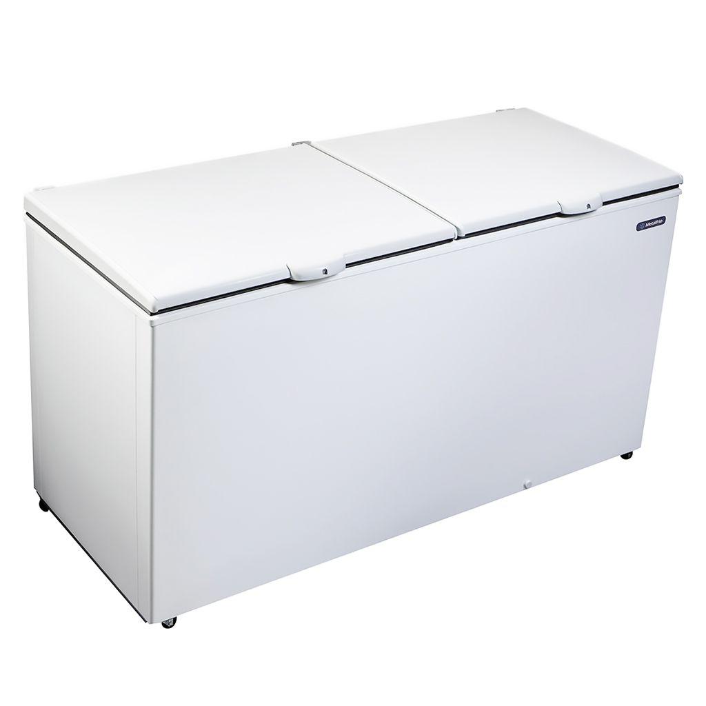 Freezer Conservador Horizontal Metalfrio 2 Portas 546L Branco DA550 - 127v