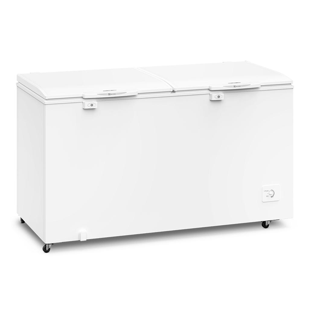 Freezer Refrigerador Horizontal Electrolux 2 Tampas 513L Branco H550 - 220V