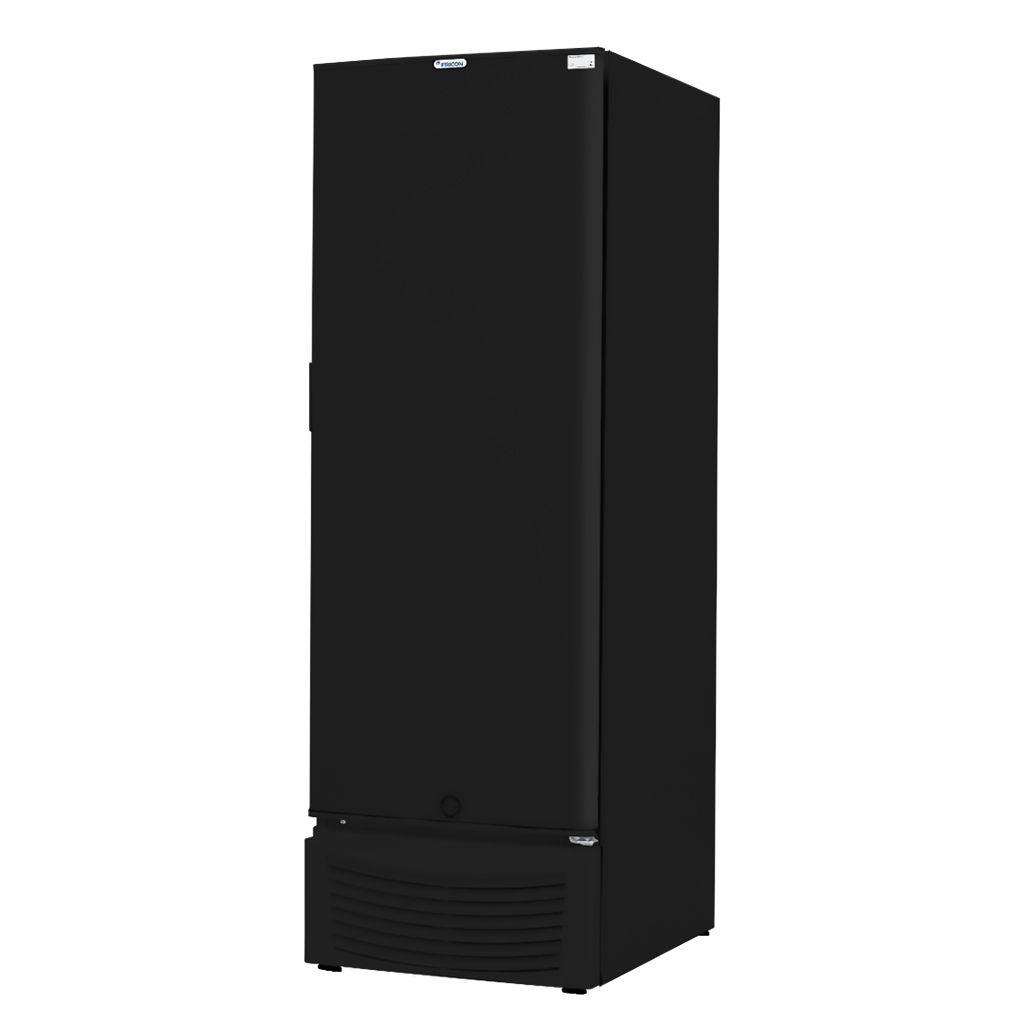 Freezer Conservador Vertical Fricon 1 Porta 284L Preto VCED 284 C - 127v