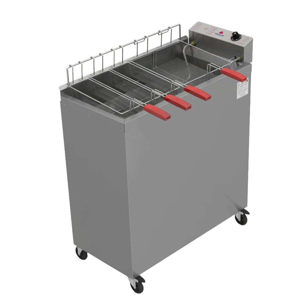 Fritadeira Elétrica Água e Óleo 30L 4 Cestos PR3000E Progás - 220v