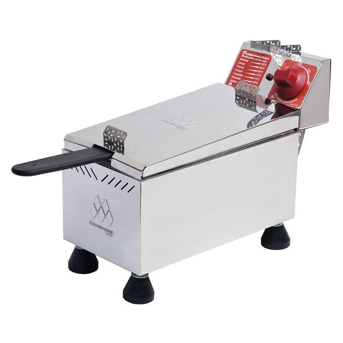 Fritador eletrico  4lt 1 cesto 127v marchesoni mod. ft-1.401