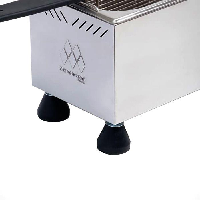 Fritador eletrico  8lt 2 cestos 127v marchesoni mod. ft-1.421