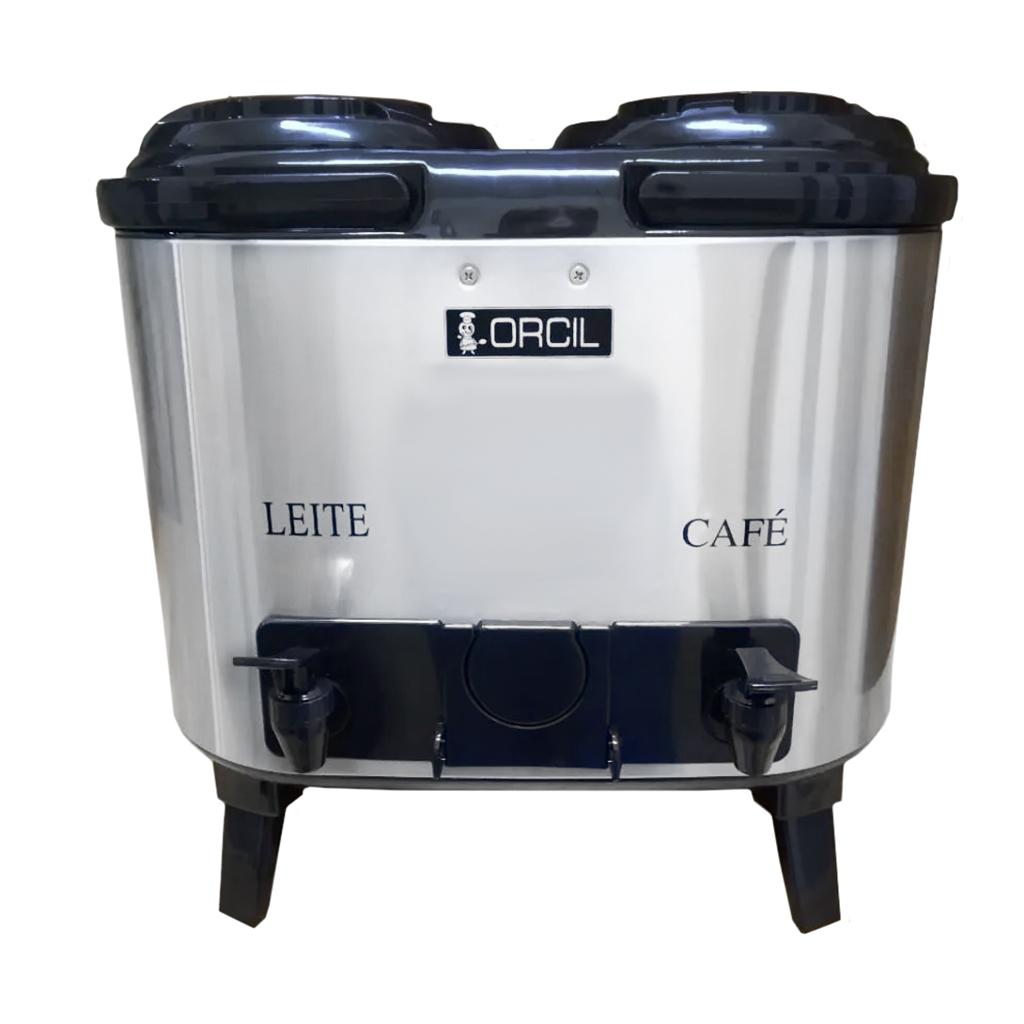 Garrafão Botijão Térmico Orcil Café e Leite 6L Cada