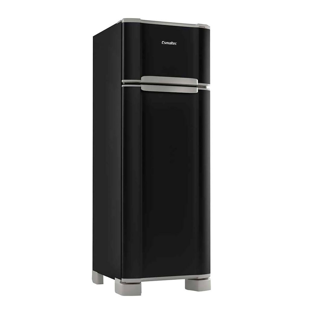 Geladeira Refrigerador Esmaltec 276L Duplex Preto RCD34 - 127v
