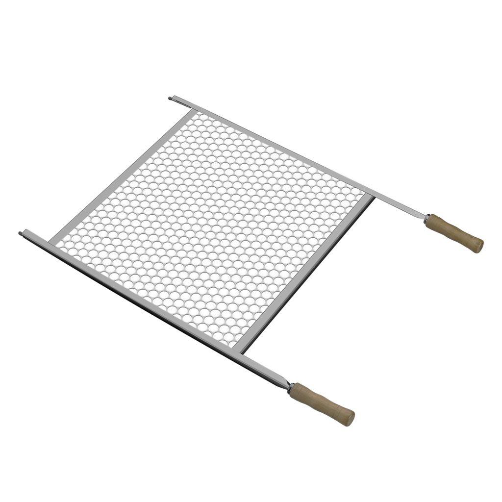 Grelha Para Churrasco Aço Inox 55x83cm Tramontina