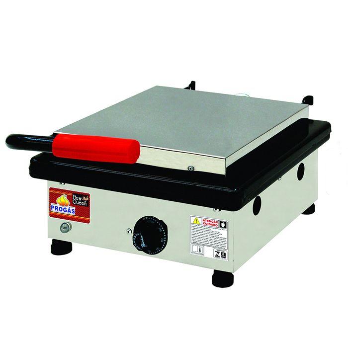 Grill simples eletrico 127v progas 1 prensa mod. pr-350e ref. 30176