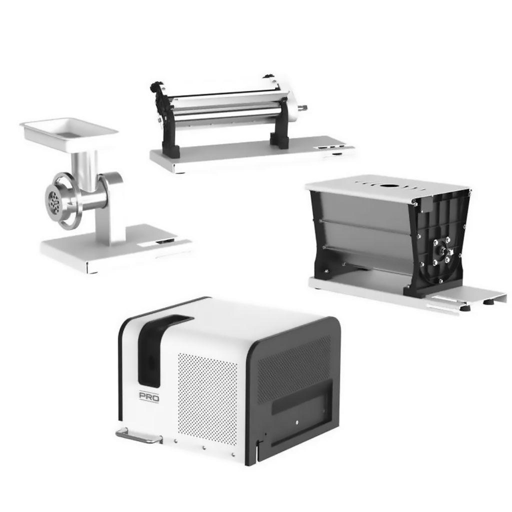 Kit Supermix Com Amassadeira, Cilindro e Moedor Anodilar 1/2HP - 127/220v