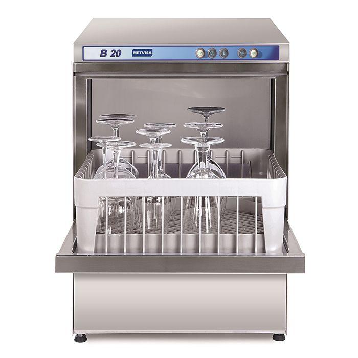 Lavadora de loucas metvisa consumo agua 1,7lt/ ciclo 220v mod. b20