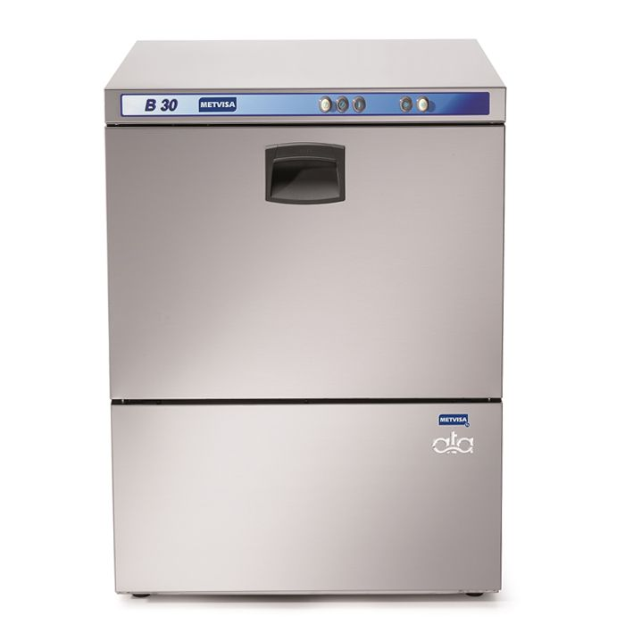 Lavadora de loucas metvisa consumo agua 2,5lt/ ciclo 220v mod. b30