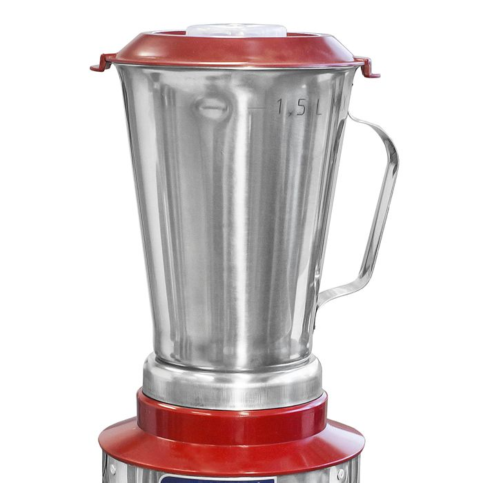 Liquidificador alta rotacao  1,5lt visa 127v slim vermelho mod. lar-1,5