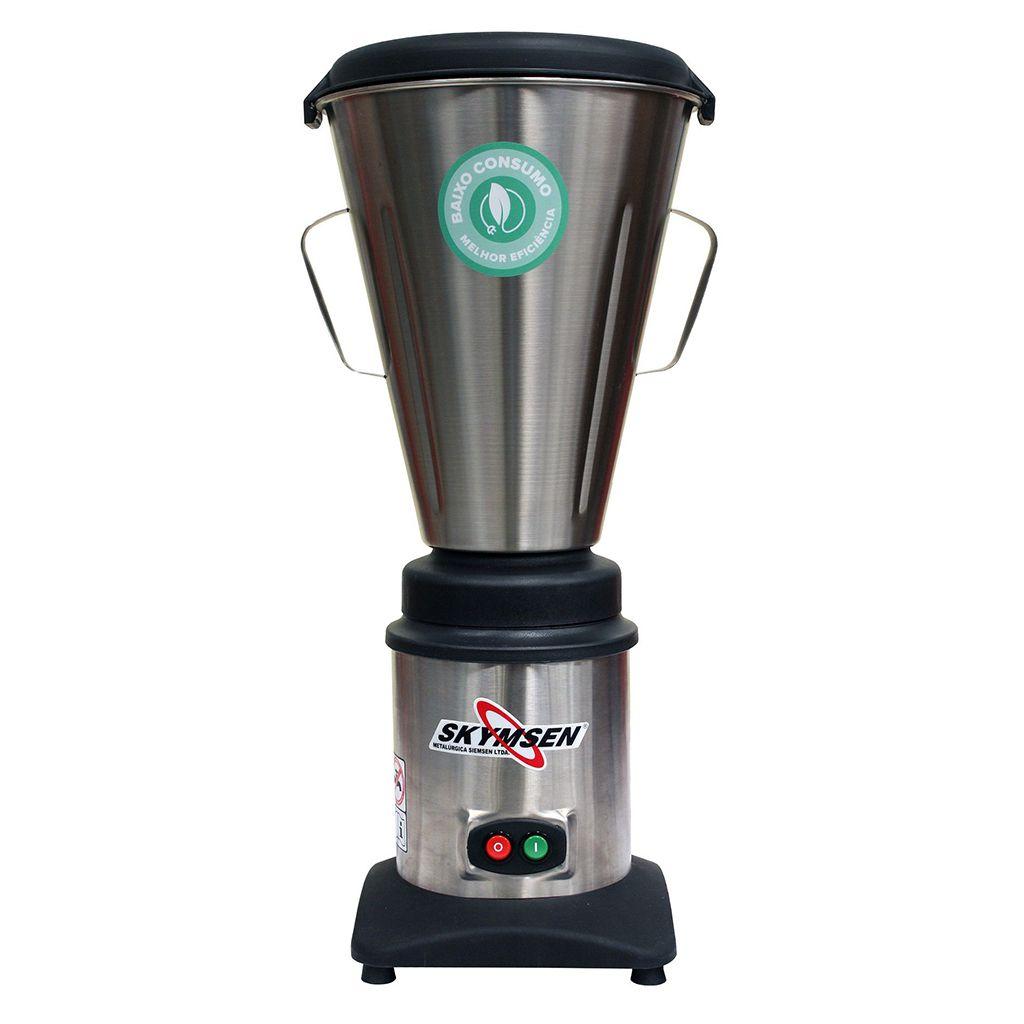 Liquidificador industrial  6,0lt siemsen 127v copo inox monobloco mod. lc6
