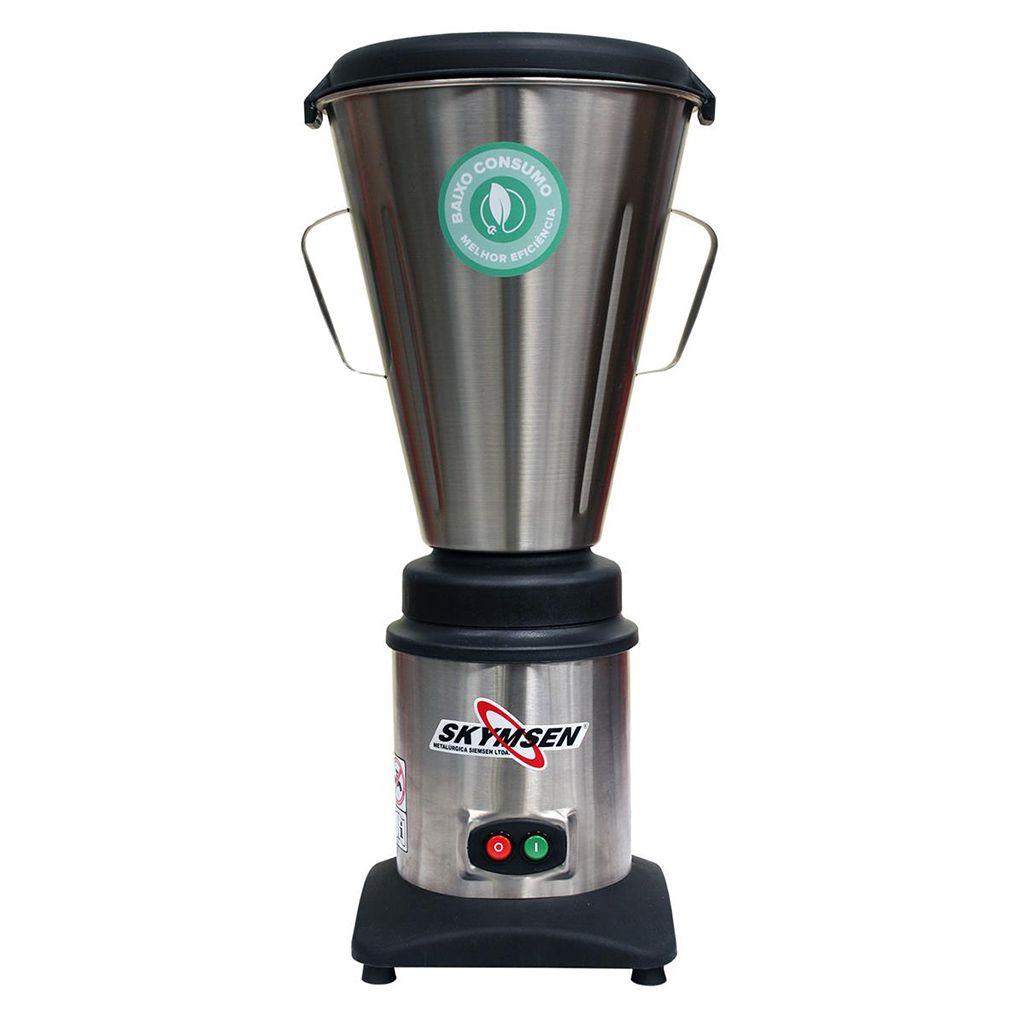 Liquidificador industrial  8,0 lt siemsen 127v copo inox monobloco mod. lc8