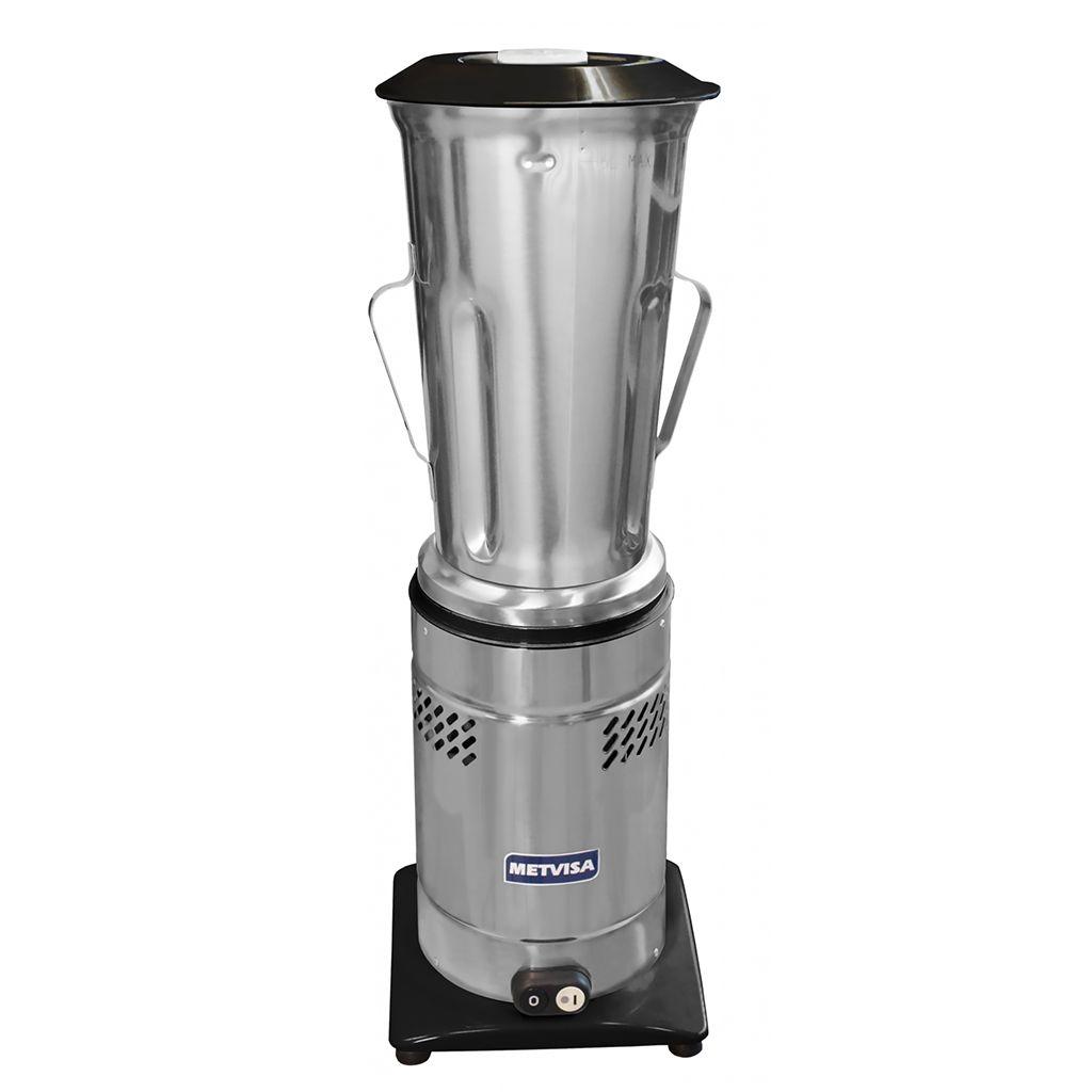 Liquidificador Industrial De Baixa Rotação 6,0L Metvisa LQL-6 Light Preto - 220v