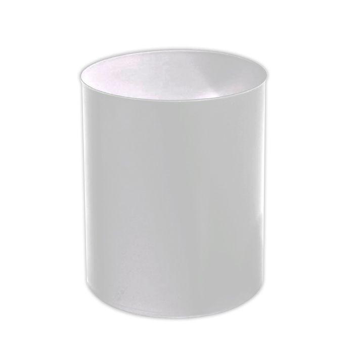 Lixeira      12lt tipo cesto jsn branco ref. eb1a