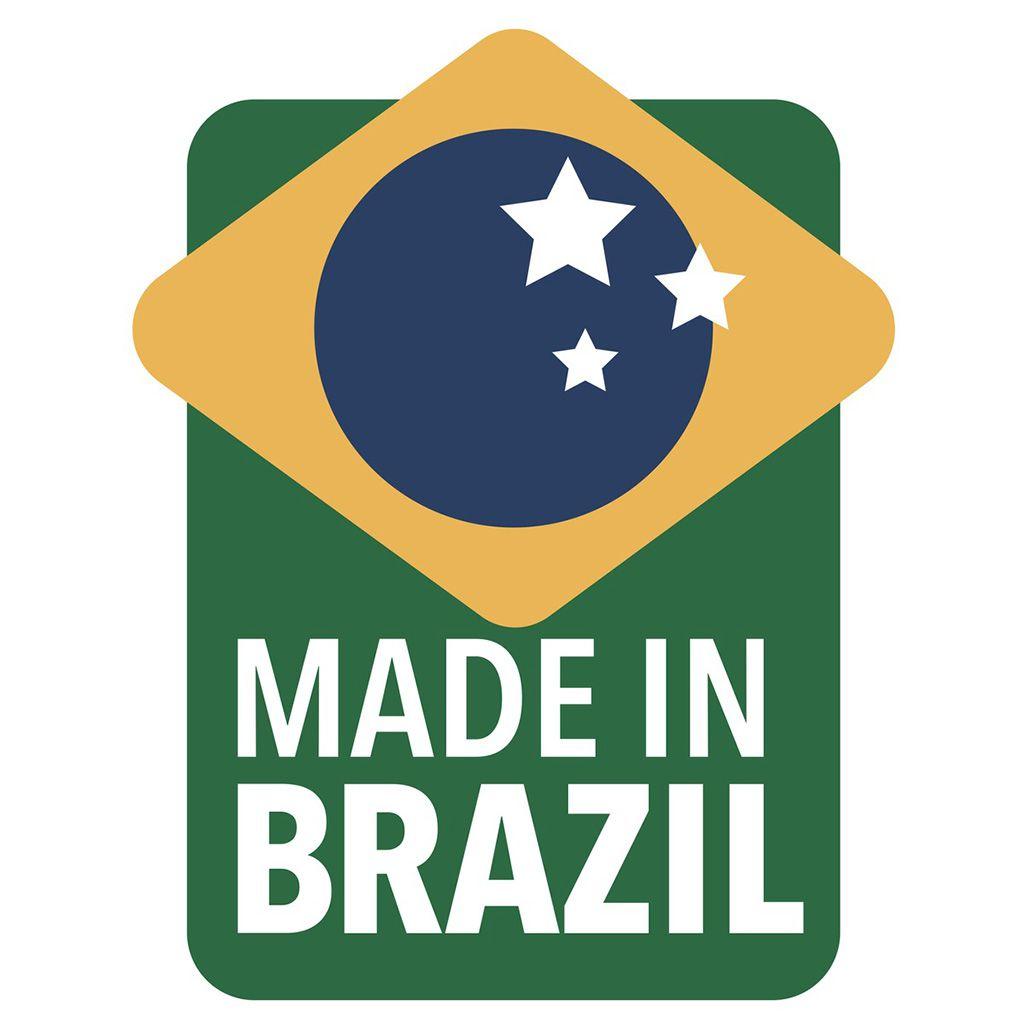 Lixeira   20lt c/ pedal inox tramontina brasil ref. 94538/120