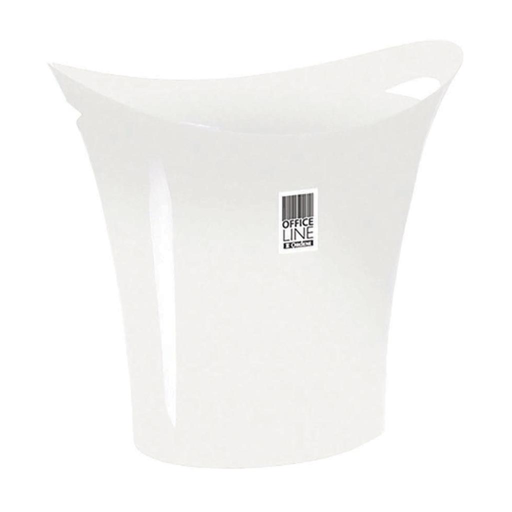 Lixeira Papeleiro 8,8L Ordene - Branco