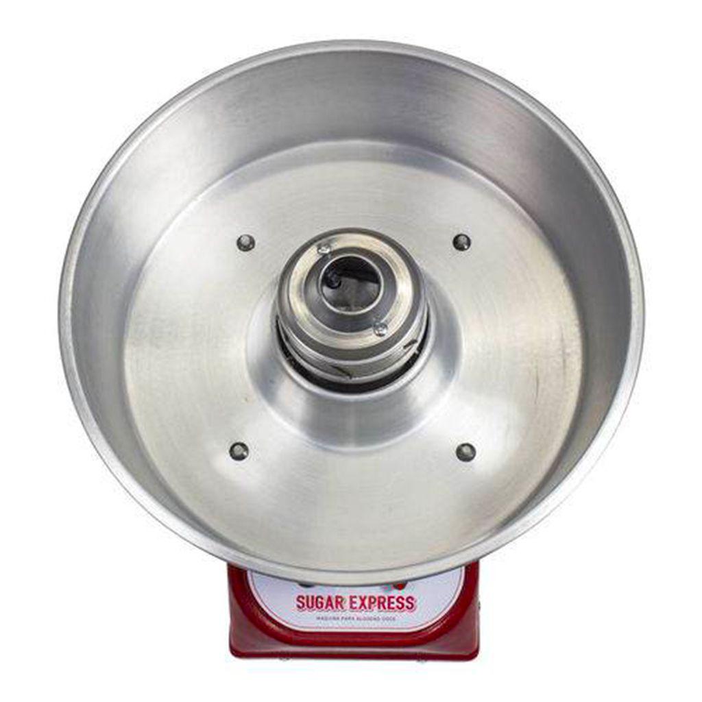Maquina de algodao doce profiss.bacia aluminio 127v braesi mod. adb-02 ref.3083