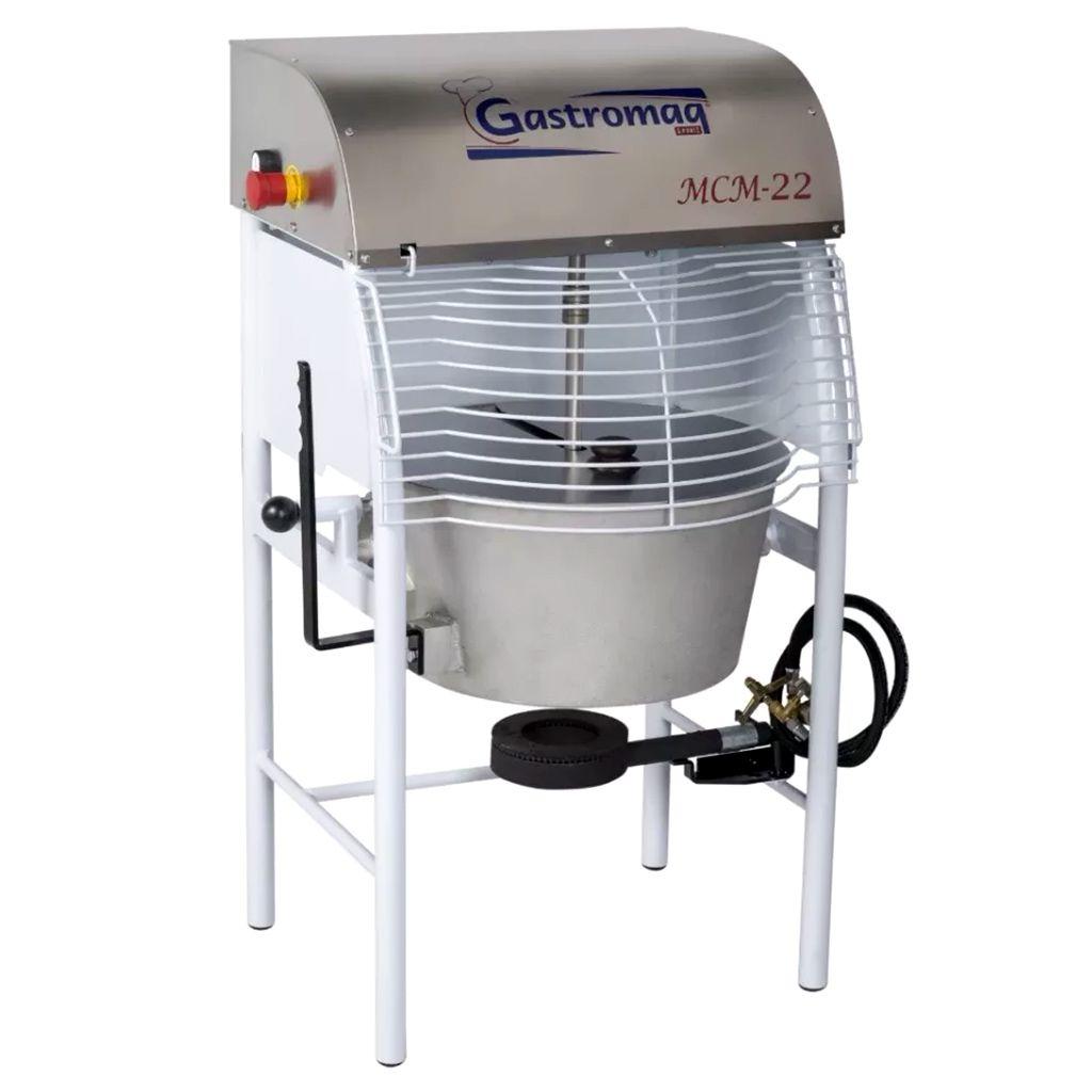 Máquina De Cozimento E Misturadora 22L Gastromaq MCM22 - 127/220v