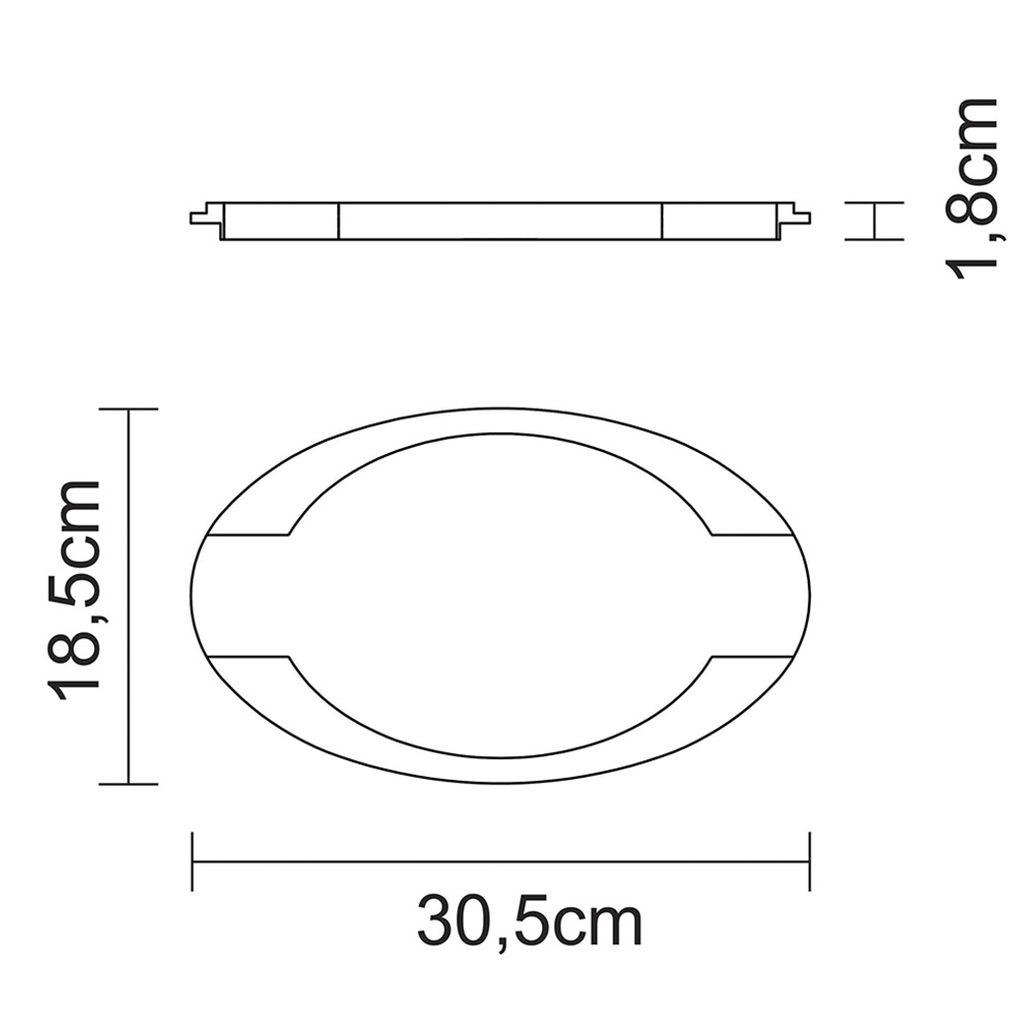 Mix grill ferro fundido oval tramontina c/ base em madeira ref. 10239/097
