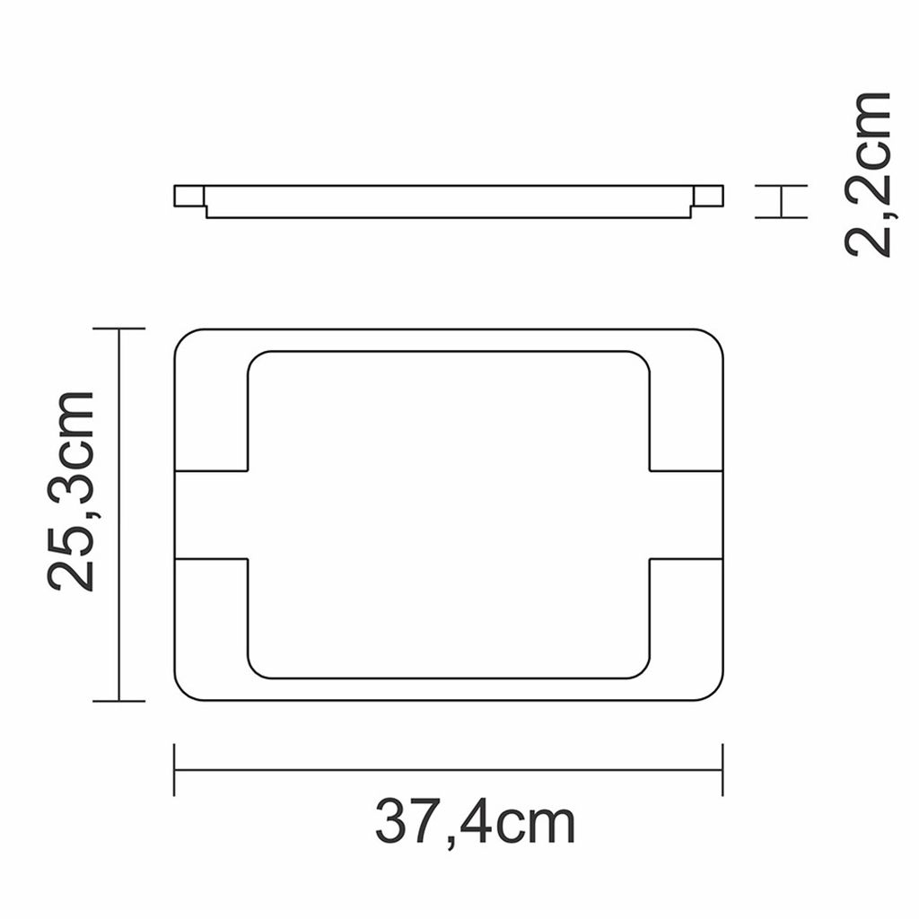 Mix grill ferro fundido retangular tramontina c/ base em madeira ref. 10239/16
