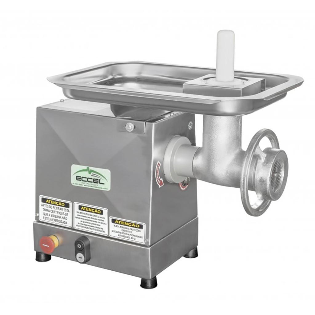 Moedor de Carne 1/2HP Eccel Inox MCIE-10 - 127/220v