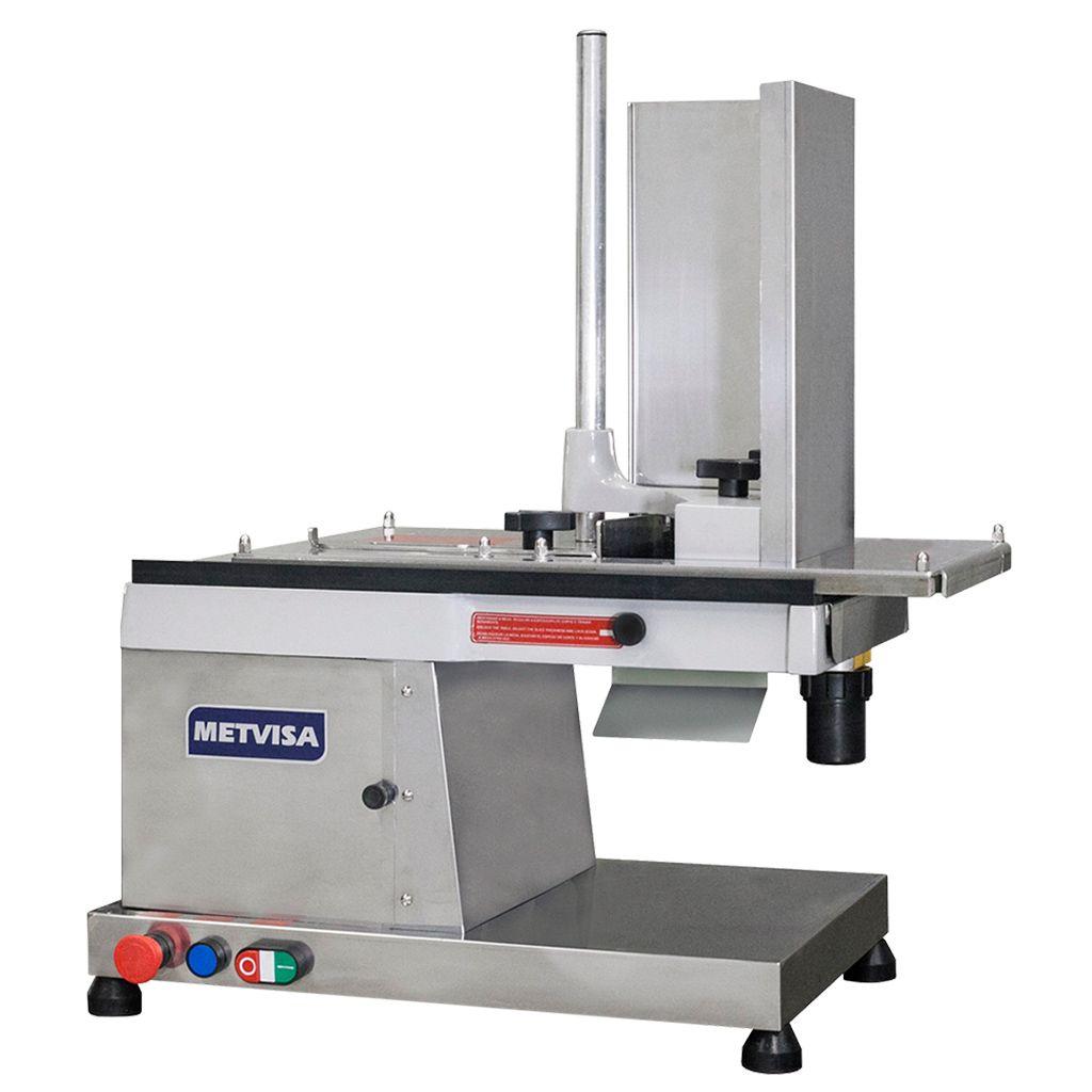 Nr-12 cortador de frios automat. 300mm 127v visa aco inox 1/3hp mod.cfh300