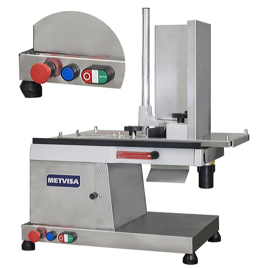 Nr-12 cortador de frios automat. 300mm 220v visa aco inox 1/3hp mod.cfh300