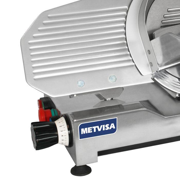 Cortador de frios semi-automat. 250mm visa 1/4hp 127v mod. cfe-250 nr-12