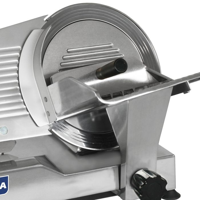 Nr-12 cortador de frios semi-automatico 300mm 1/3hp 220v visa mod. cfe-300