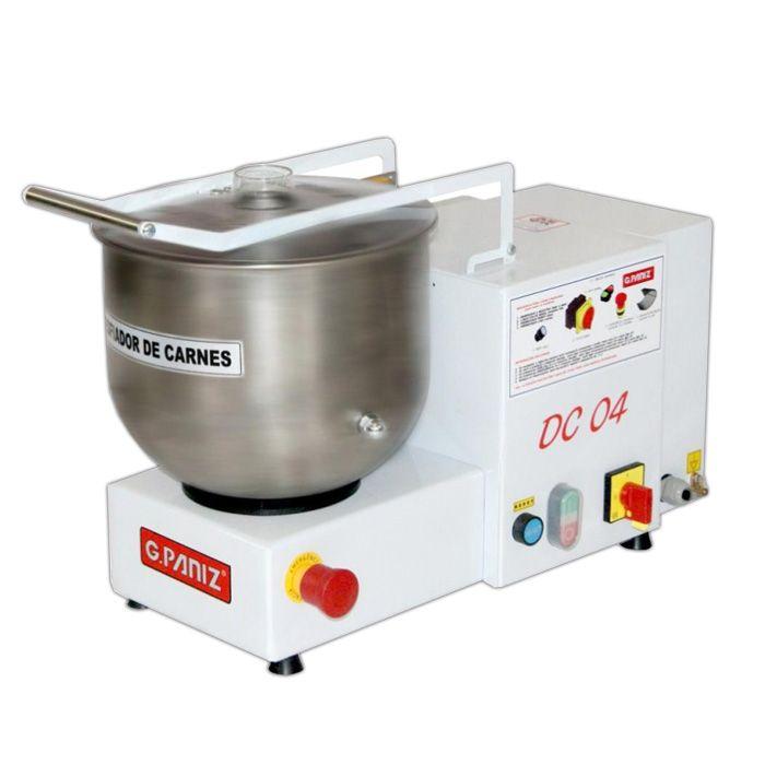 Desfiador de carne cap.   4 kg/min 127v g.paniz mod. dc-04 90440 nr-12