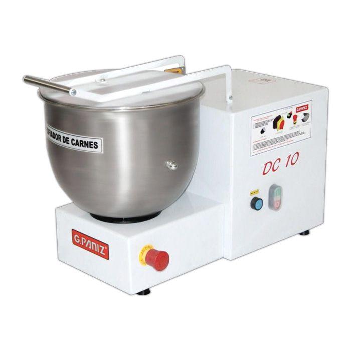 Nr-12 desfiador de carne cap. 10 kg/min 220v g.paniz mod. dc-10