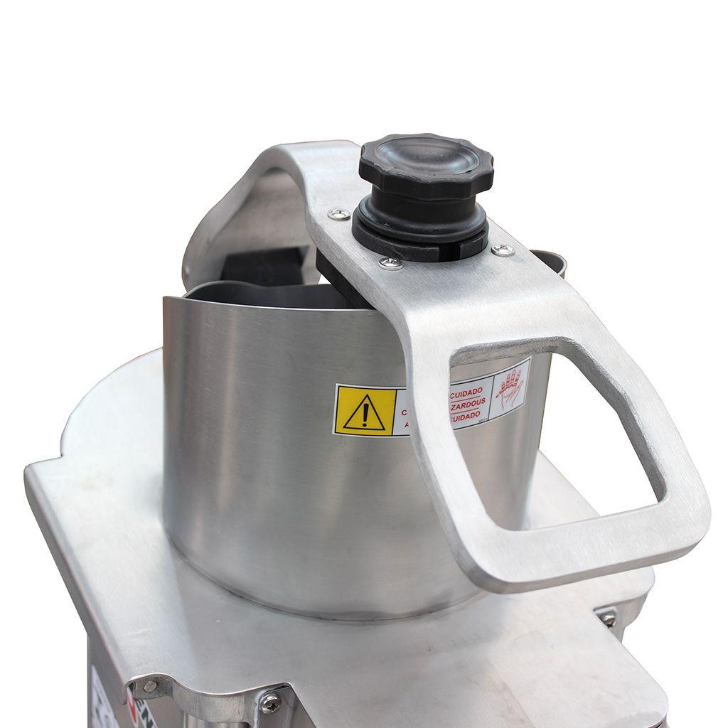 Nr-12 preparador de alimentos siemsen inox 220v 6 discos 1/2cv mod. pa.7