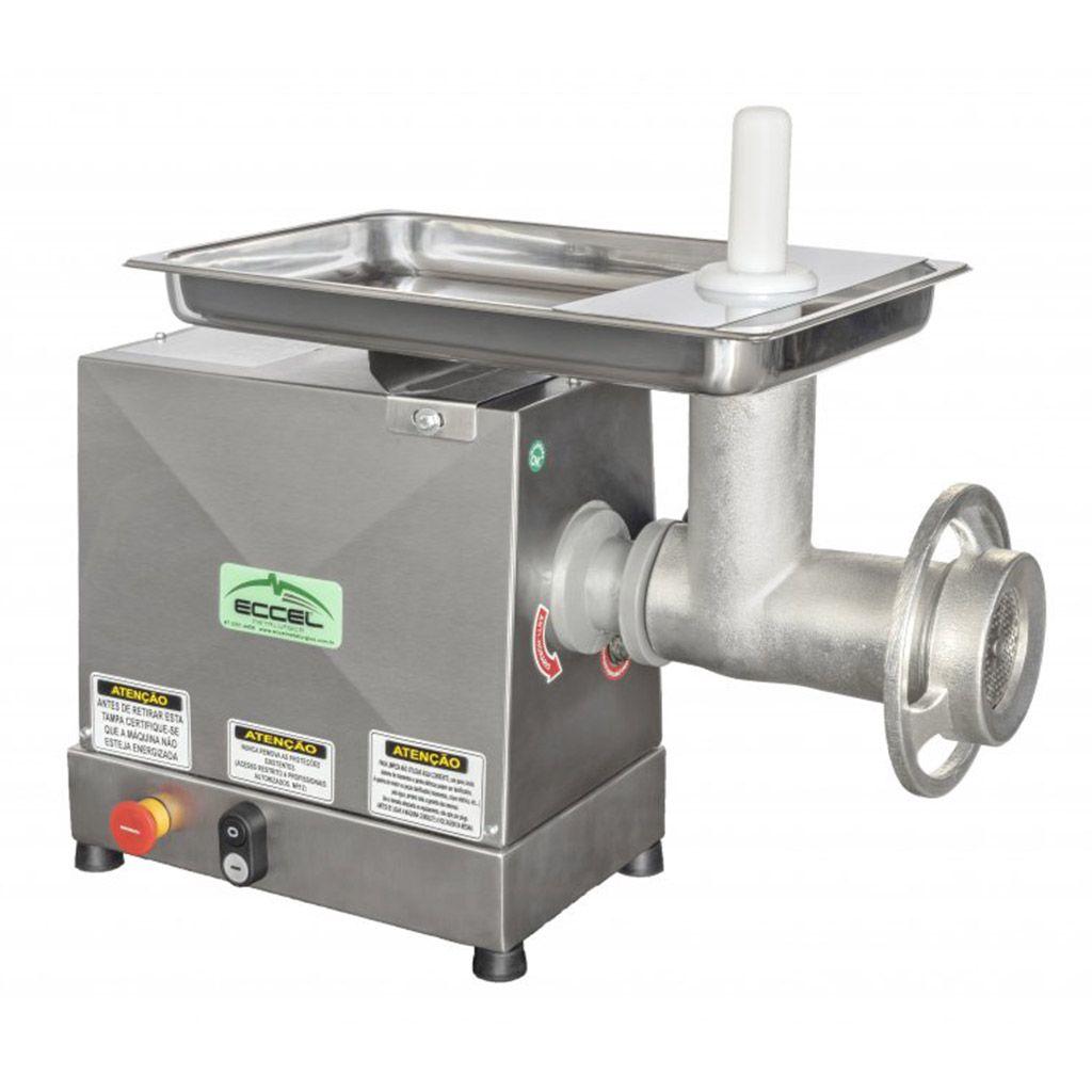 Moedor de Carne 1/4HP Eccel Inox - 127/220v