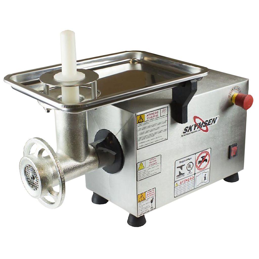 Picador de carne    1/2 hp siemsen  inox 220v mod. ps-10 nr-12