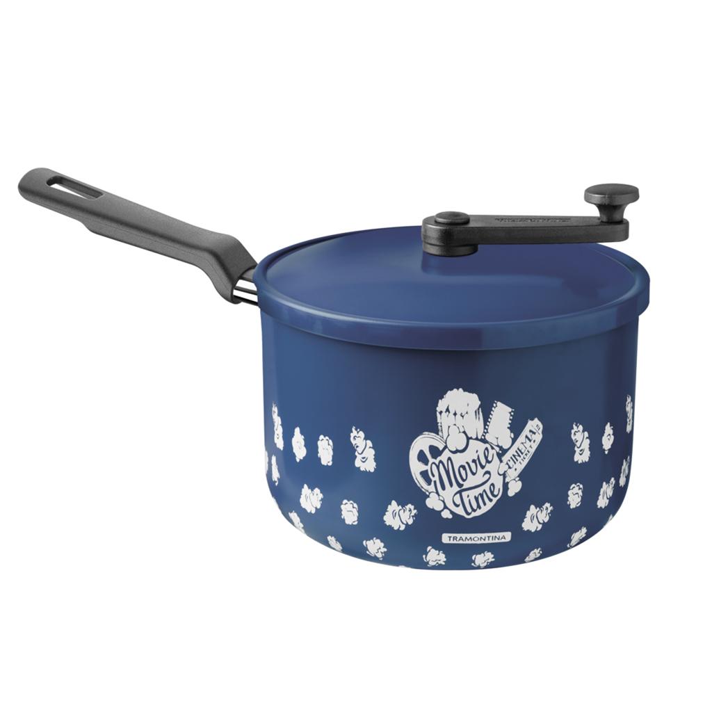 Pipoqueira Tramontina Loreto 3,5L - Azul