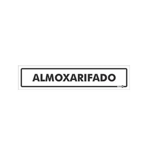 Placa Almoxarifado PS57 (6,5x30cm)