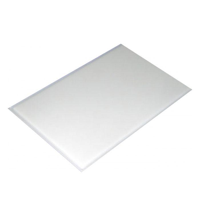 Placa de corte lisa polipropileno kitplas branca  50 x 30 x 1,5cm  ref. 626