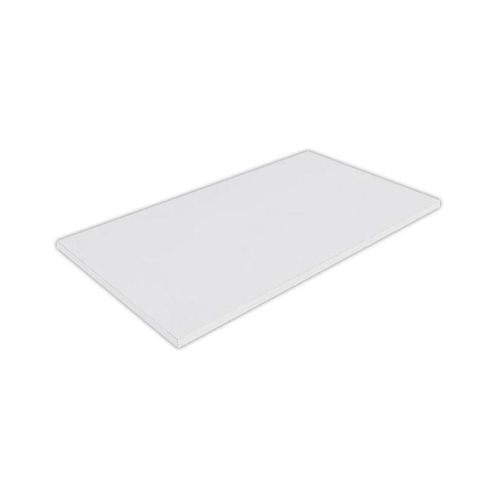 Placa de corte lisa polipropileno kitplas branca  50 x 40 x 1,5cm  ref. 628