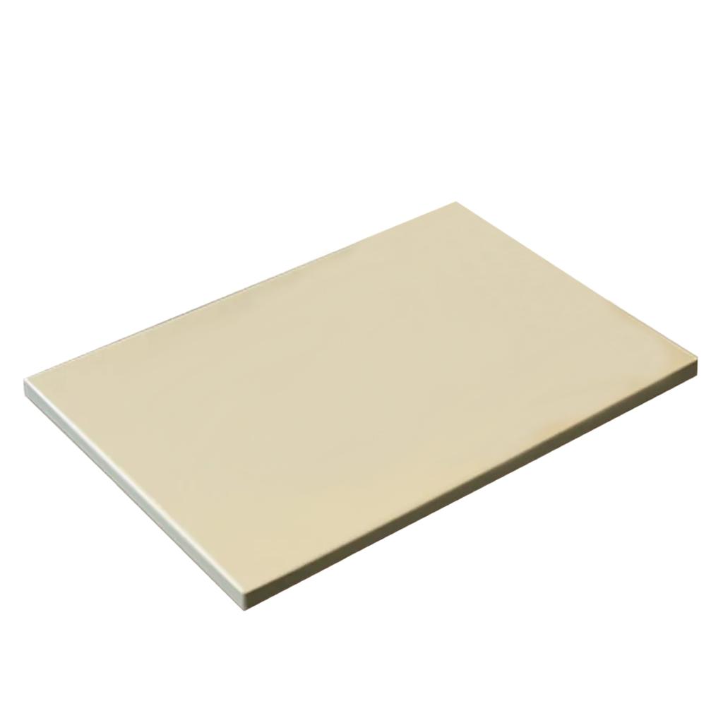 Placa Polietileno Bege 1x50x40cm Kitplas