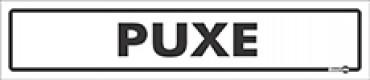 Placa Puxe PS61 (6,5X30cm)