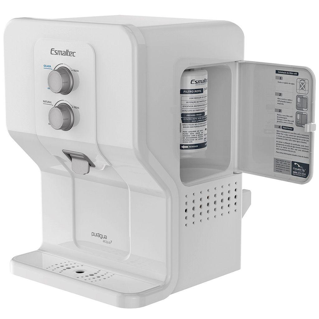 Purificador de agua esmaltec  acqua 7 127v branco/branco ref. 63/ 0115000045