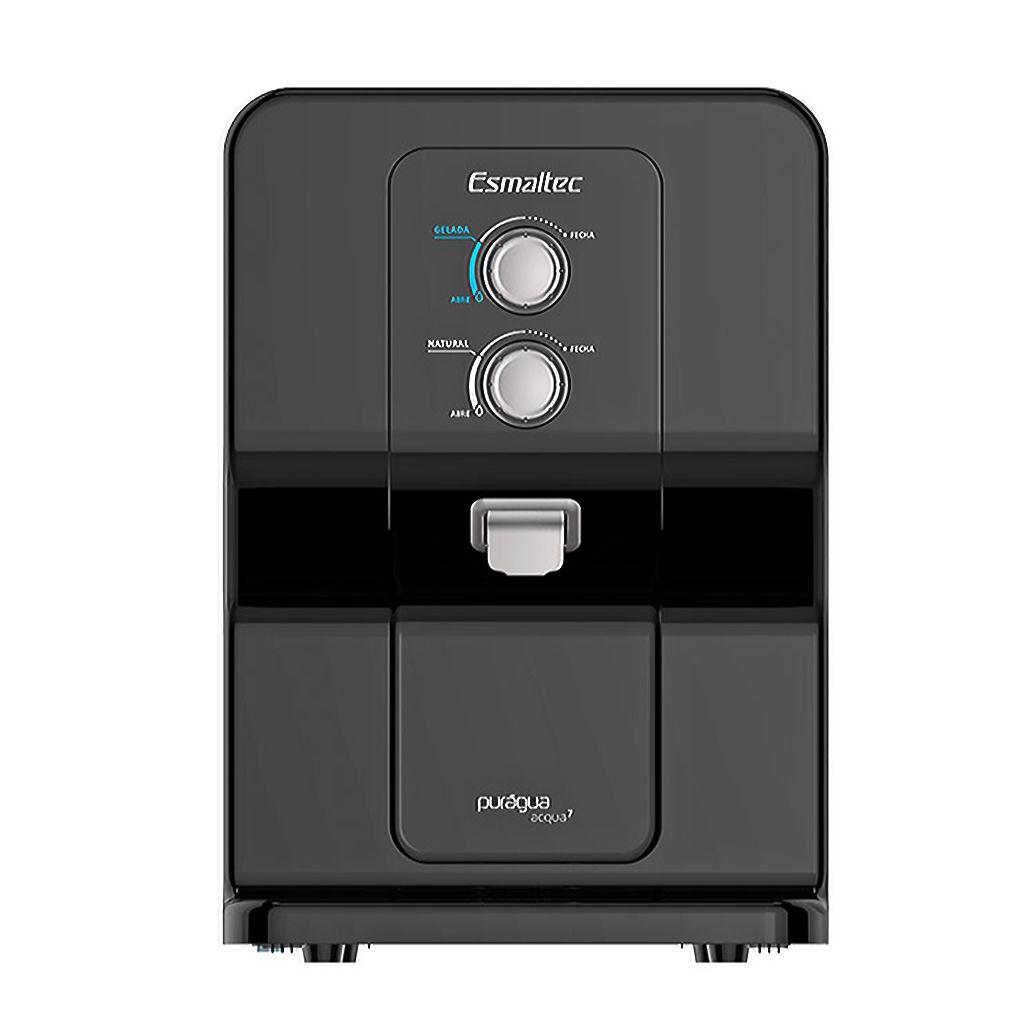 Purificador de agua esmaltec  acqua 7 127v preto/preto ref. 63p