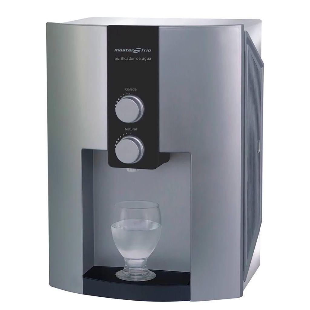 Purificador de agua inox /  prata masterfrio 127v ref. 55007