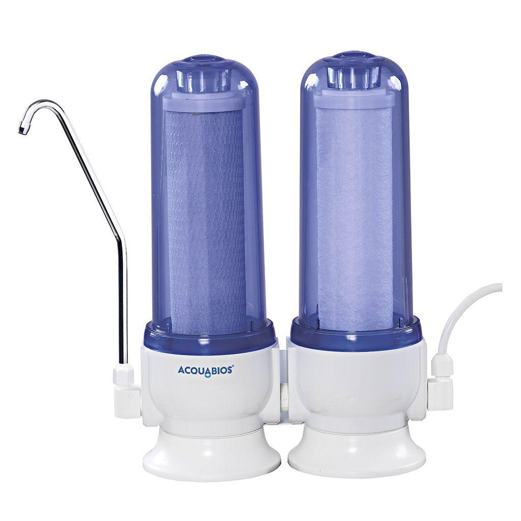 Purificador De Água Acquabios 60L/h Azul Acquas 230 Super Plus tr