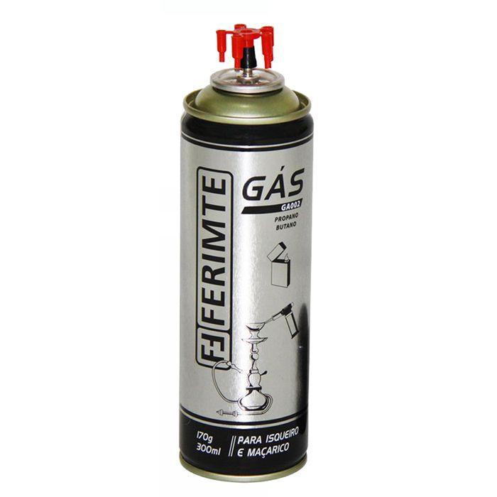 Refil Gás Butano/Propano Para Isqueiros e Maçaricos 170g Ferimte GA002