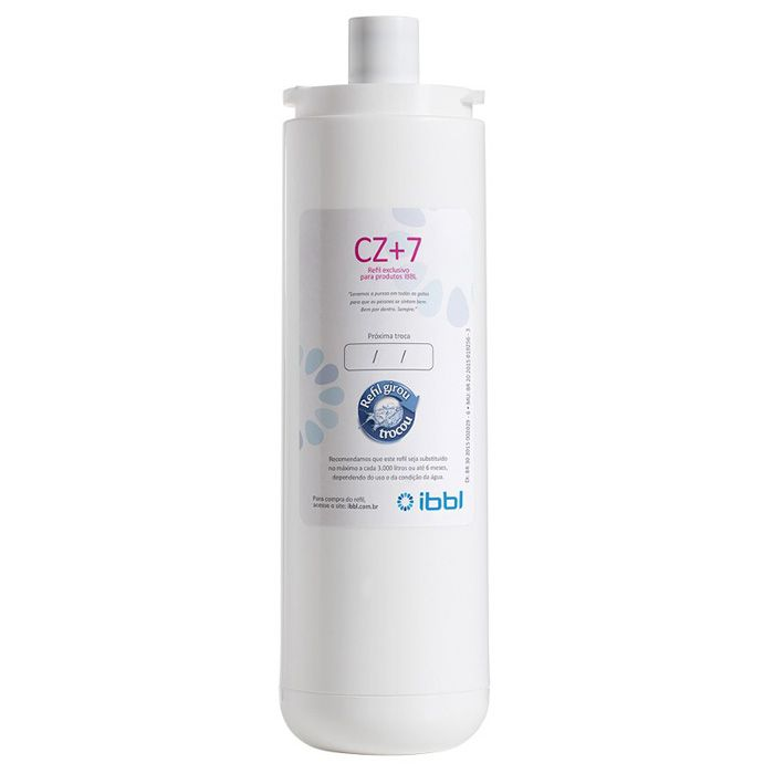 Refil p/ purificador de agua ibbl cz+7 ref. 24010005/ 13