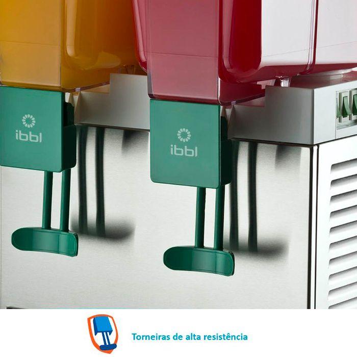 Refresqueira dupla 15lt cada bojo ibbl 220v mod. bbs-2 ref. 17112001
